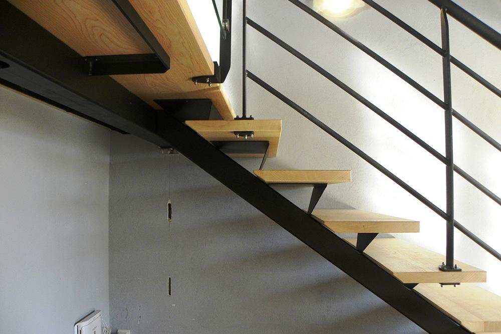 Escalier Contemporain - Fabrication, Réalisation Et Pose - Jura